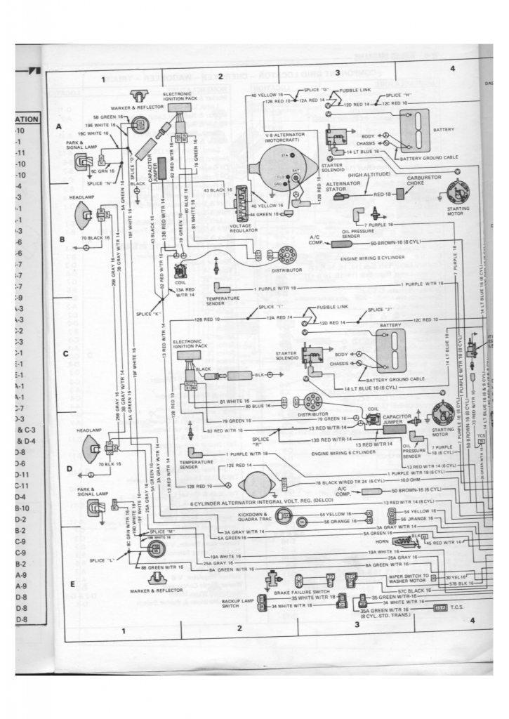 jeep electrical wiring schematic jeep electrical wiring schematic alternator